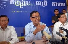 Tòa sơ thẩm Phnom Penh phạt tiền thủ lĩnh đảng CNRP Sam Rainsy