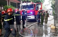 TP.HCM: Bất mãn với dịch vụ, khách trọ đổ xăng đốt khách sạn
