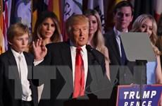 Nhật Bản, Hàn Quốc chúc mừng Tổng thống Mỹ đắc cử Donald Trump