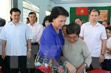 Chủ tịch Quốc hội dự Ngày hội Đại đoàn kết toàn dân tộc ở Bến Tre