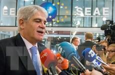 Hội đồng đối ngoại EU nhóm họp tại Bỉ về an ninh quốc phòng