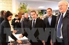 Bầu cử Pháp: Cựu Tổng thống Pháp Nicolas Sarkozy bị loại