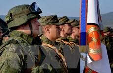 Quân khu miền Đông Nga tập trận với các hệ thống S-300