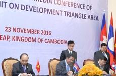 Tuyên bố chung của Hội nghị Cấp cao khu vực Tam giác phát triển