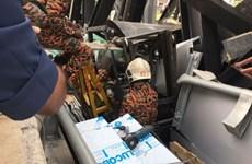 Sập cầu đi bộ tại Kuala Lumpur, 4 lao động Việt Nam bị thương