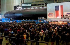 Mỹ hạ thủy tàu ngầm tấn công mới lớp Virginia USS Colorado