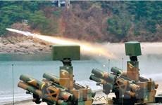 Quân đội Hàn Quốc tiến hành tập trận tên lửa đất đối không