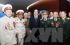 Lãnh đạo Hà Nội gặp mặt cựu chiến binh, thanh niên xung phong