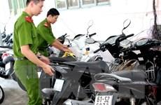 Phát hiện đường dây tiêu thụ xe gian tại Thành phố Hồ Chí Minh