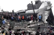 Rơi máy bay vận tải không quân Indonesia, 13 người thiệt mạng