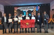 5 học sinh Việt Nam dự kỳ thi Olympic quốc tế đều đạt giải