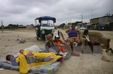 50 người thương vong, hàng trăm gia đình sơ tán vì động đất Ecuador