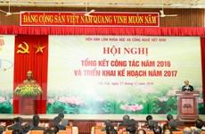 """Thủ tướng """"đặt hàng"""" Viện Hàn lâm Khoa học và Công nghệ Việt Nam"""