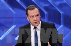 """Medvedev: Obama kết thúc nhiệm kỳ trong """"sự bi thảm"""" vì chống Nga"""