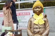 """Hàn Quốc cho phép dựng tượng """"phụ nữ mua vui"""" tại Busan"""