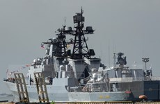Nga có thể tập trận chung với Trung Quốc và Malaysia trên Biển Đông