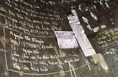 Báu vật quốc gia Chuông chùa Thiên Mụ bị viết, vẽ chi chít