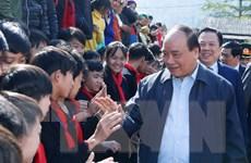 Thủ tướng làm việc tại các huyện Trà Lĩnh và Bảo Lâm của Cao Bằng