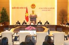 Khai mạc Phiên họp thứ 6 Ủy ban Thường vụ Quốc hội
