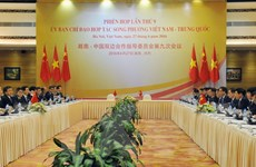 Định hướng phát triển lành mạnh, lâu dài quan hệ Việt-Trung