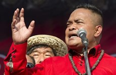 Thủ lĩnh phe Áo Đỏ Thái Lan được tại ngoại sau 7 lần kháng nghị