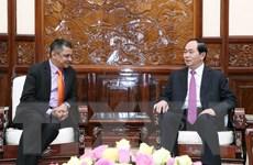 Chủ tịch nước tiếp Tổng Giám đốc tập đoàn TATA tại Việt Nam