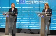Hội nghị ngoại trưởng EU tập trung thảo luận về Syria và Trung Đông