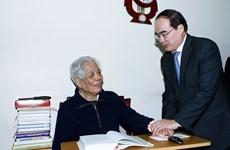 Chủ tịch MTTQ chúc Tết các đồng chí nguyên lãnh đạo Đảng, Nhà nước