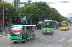 Thành phố Hồ Chí Minh thí điểm hai tuyến xe buýt điện