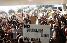 Biểu tình khắp nơi tại Mỹ phản đối lệnh cấm nhập cảnh của ông Trump