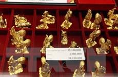 Lượng vàng giao dịch ngày Thần tài tăng gấp đôi so với năm trước