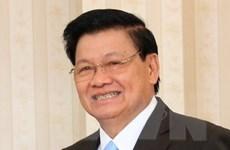 Thủ tướng Lào tới Việt Nam, đồng chủ trì Kỳ họp Ủy ban liên Chính phủ