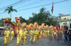Độc đáo nghi lễ rước nước, tế cá tại lễ hội đền Trần Nam Định