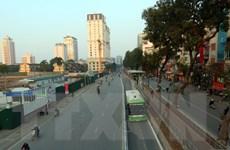 Xác định được danh tính lái xe biển xanh đi vào làn đường BRT