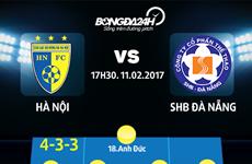 Hòa 1-1, Câu lạc bộ Hà Nội chia điểm với SHB Đà Nẵng