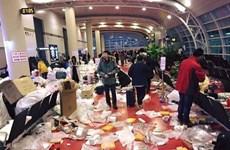 Du khách Trung Quốc biến sân bay Jeju thành bãi rác khổng lồ