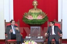 Tăng cường quan hệ hợp tác giữa Việt Nam và Argentina
