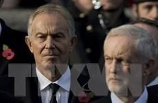 """Ngoại trưởng Anh kêu gọi """"tắt tivi"""" khi ông Tony Blair diễn thuyết"""