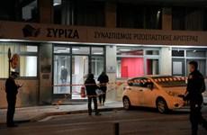 Hy Lạp bắt giữ hàng chục đối tượng tấn công trụ sở đảng Syriza