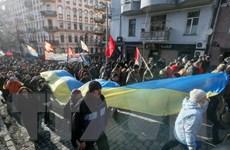 Hàng nghìn người tuần hành tại Kiev kỷ niệm 3 năm sự kiện Maidan