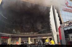 Trung Quốc: Khách sạn cháy lớn khiến 10 người thiệt mạng