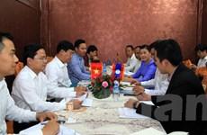 Đoàn thanh niên hai nước Việt Nam-Lào tăng cường hợp tác