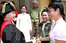 Chủ tịch Quốc hội Nguyễn Thị Kim Ngân làm việc tại tỉnh Điện Biên