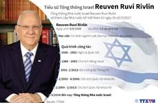 [Infographics] Tiểu sử Tổng thống Israel Reuven Ruvi Rivlin
