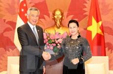 Đưa quan hệ Đối tác chiến lược Việt Nam-Singapore lên một tầm cao