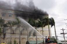 Đám cháy dữ dội tại Cần Thơ đã được khống chế sau 9 tiếng