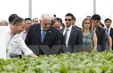 Tổng thống Israel và Phu nhân thăm dự án nông nghiệp VinEco Tam Đảo