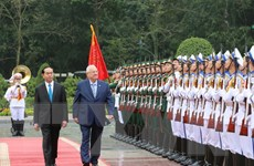 Tổng thống Israel và Phu nhân kết thúc tốt đẹp chuyến thăm Việt Nam