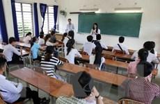 Thí sinh phải thi bài tổ hợp đã đăng ký mới được xét tốt nghiệp