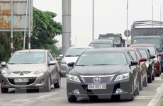 Người dân tiếp tục đưa ôtô phản đối trạm thu phí Bến Thủy